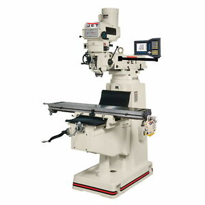 Jet Jtm 1054r Mill With 3 axis Acu rite G 2 Millpwr Cnc 691922