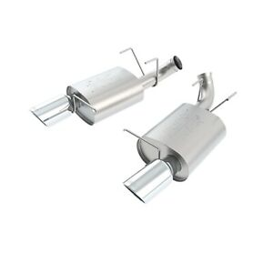 Borla 11799 Atak Rear Section Exhaust For 11 12 Shelby Mustang Gt500