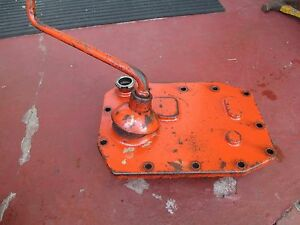 Allis Chalmers 185 Diesel Farm Tractor Tranmission Shifting Shift Tower Free Shi