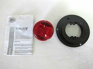 New Whelen T0r00mrr 2 Round Marker Clearance Led Lens Color Red