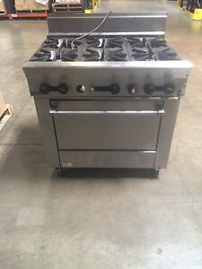 Us Range 6 Burner Convection Oven
