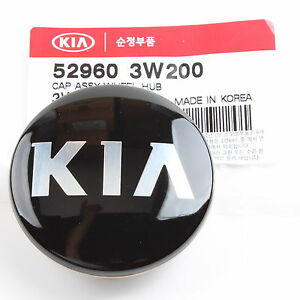 Genuine Kia Wheel Center Cap 52960 3w200