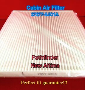 C48162 Cabin Air Filter For 2013 2018 Altima Pathfinder Infiniti Qx60 Jx35