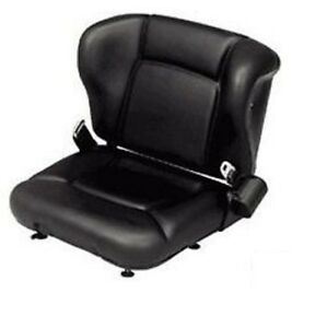 New Toyota Seat With Switch Seatbelt 53710 u1090 71 Forklift Fork Truck Seat