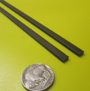 W1 Tool Steel Bar 3 32 Thick X 1 4 Wide X 36 Length 2 Pieces