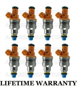 best Upgrade 30lbs Race type Set Of 8 Fuel Injectors For Ford 4 6l 5 4l 5 8l