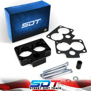 Engine Throttle Body Spacer Kit 52mm 99 04 Jeep Grand Cherokee Wj 2wd 4wd Black