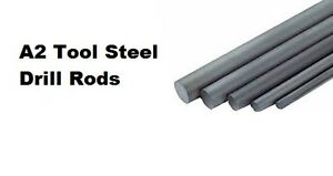 A2 Tool Steel Ground Drill Rod 2 1 2 Dia 001 X 1 Ft Length 1 Pcs