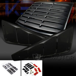 05 14 Ford Mustang 2dr Coupe 1 4 Side Vent Rear Window Scoop Louver Cover