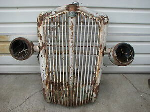 1936 White Motor Company Truck Grille Yellowstone Park Bus 1937 1938 1939