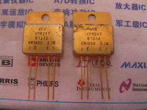 1x Vpr247 0r1000 0 1 High Precision Current Sensing Resistors With