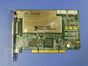 National Instruments Pci 6281 Ni Daq Card 18 bit Analog Input Multifunction
