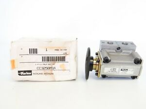 Parker Cc Series Cc325bm1 1 4 Lg Palm Button Pneumatic Valve