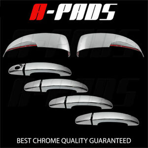 For Ford Focus escape 2013 14 15 16 Chrome Mirror W signal Door Handle Cover