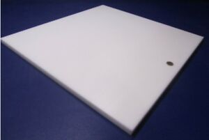Delrin Acetal Sheet White Pom 3 4 750 Thick X 24 Width X 24 Length