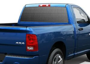 Speaker Grille Texture Carbon Rear Window Decal Sticker Pick up Truck Suv Car