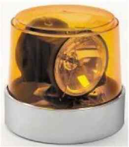 Wolo 3600 a Power Beam Series 12 volt Amber Halogen Rotating Tube Light W mount