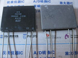 1x 303198 3r0000 0 01 High Precision Current Sensing Resistors With