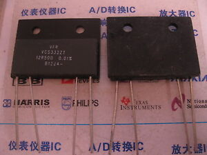 1x Vcs332z 12r500 0 01 Vishay High Precision Current Sensing Resistors With