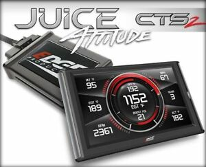 Edge Juice With Attitude Cts2 Monitor 31506 For 13 15 Dodge 6 7l Cummins Diesel