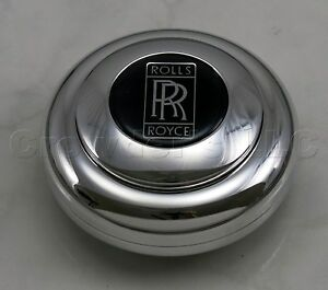 Nardi Anni Classic Steering Wheel Horn Button Center Kit Rolls Royce Logo 2