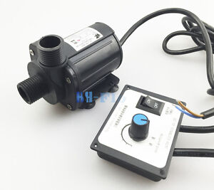 Hsh flo Dc Water Pump 12v 3 Phase Hot Water Booster Pump 2200l h Amphibious