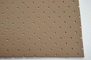 Ford Perforated Headliner Vinyl Saddle Brown Material By The Yard Top Quality