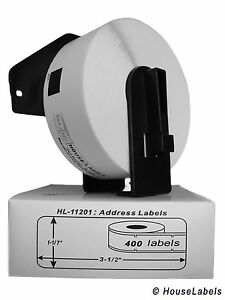 18 Rolls Of Dk 1201 Brother compatible Address Labels With 1 Reusable Cartridge