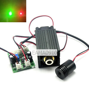 Industrial 12v High Power 650nm 200mw Red And 532nm 50mw Green Laser Dot Module
