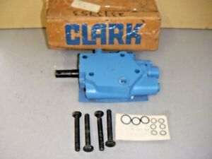 Clark 2373753 Hydraulic Spool Control Valve Assembly