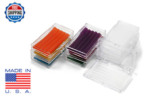 10 Pack Orthodontic Wax Braces Irritation Assorted Colors Scents Dental