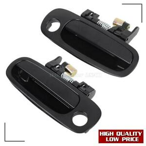 2 For 1998 2002 Toyota Corolla Exterior Front Left Right Lh Rh Side Door Handle