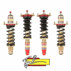 For 89 05 Mazda Miata Type 2 Function And Form Full Height Adjustable Coilovers