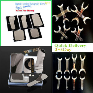 5 dental Intraoral Clinic Photography Mirror 8 retractor Cheek Lip Mouth Opener