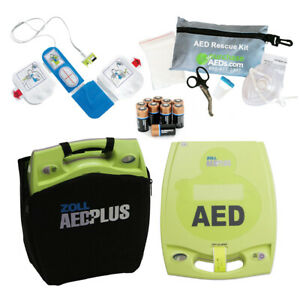 Zoll Aed Plus Fully auto Portable Bundle