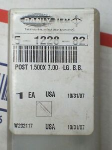 Danly Microme 5 1228 82 1 500 X 7 00 Steel Guide Post Die Press New