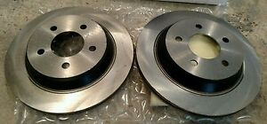 2pc Oem Ford Mustang Cobra 11 65 Rear Rotor 94 04 79 93 Upgrades F4zz2c026b