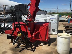 92 Normand Snow Blower Demo Unit Dual Augured For Tractor 85 140hp sale