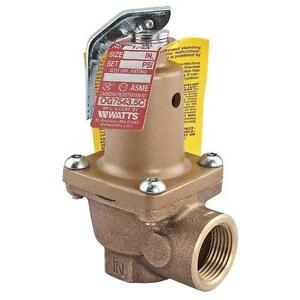 Watts 0274513 3 4 174a 50psi 950 000 Btu hr Relief Valve