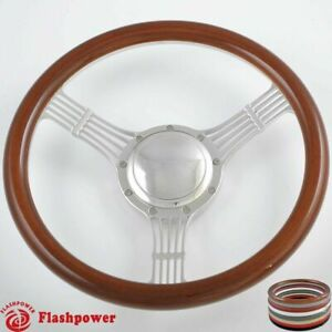 14 Billet Steering Wheels Wood Banjo Ford Gm Corvair Impala Chevy Ii