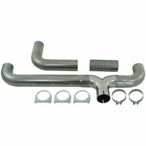 Mbrp Exhaust Stainless Steel Universal T Pipe Dual Stack Kit Ut5001