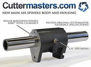 Replacement Air Spindle Main Housing Assy For Journeyman Cuttermaster Grinders