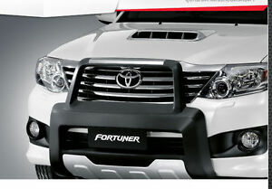 Genuine Black Front Bumper Guard For New Toyota Fortuner 2011 2013