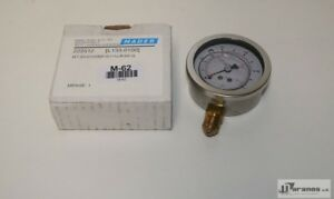 Mader 222512 Glycerine Filled Bourdon Tube Pressure Gauge Nominal Size 63 100