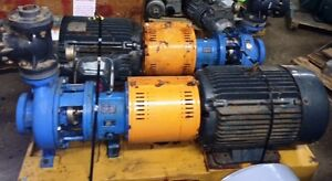 Goulds 2x3x10 3196 Mtx Pumps 316ss With Base Motor