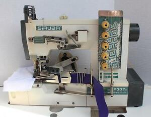 Siruba F007e W222 356 Coverstitch 3 needle With Binder Industrial Sewing Machine