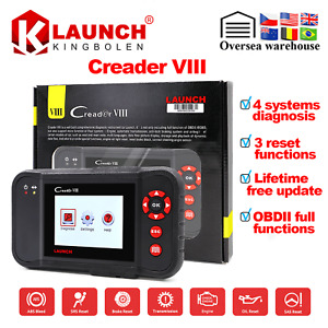 Launch Creader Viii Obd2 Obdii Car Code Reader Scanner Abs Srs Eng Transmission
