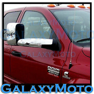 Triple Chrome Towing Mirror Arm Cover 4pcs For 06 08 Dodge Ram 1500 2500 3500