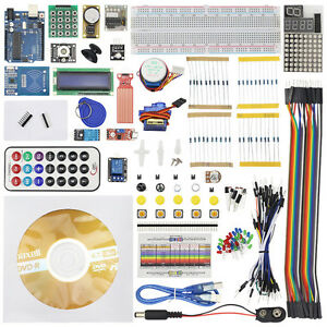 Sensor Arduino Uno R3 Kit Upgraded Version Starter Kit Rfid Learn Suite Lcd 1602
