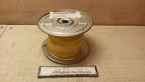 500 Nos Electrical Wire Yellow 16 awg Mil w 16878 2 273 1290p4 M16878 2bje4